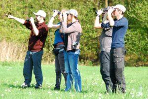 Das DDA-Birdrace, jährlich wiederkehrender Vogelbeobachtungsspaß für Jung und Alt, für Professionelle und Hobby-Ornithologen.