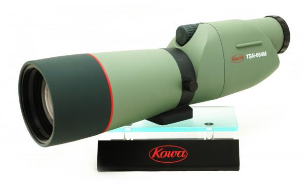 Kowa Spektiv TSN-664M, schräg-seitlich auf Podest