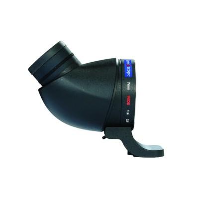 LENS2SCOPE 7mm wide für Nikon F, schwarz, Winkeleinsicht