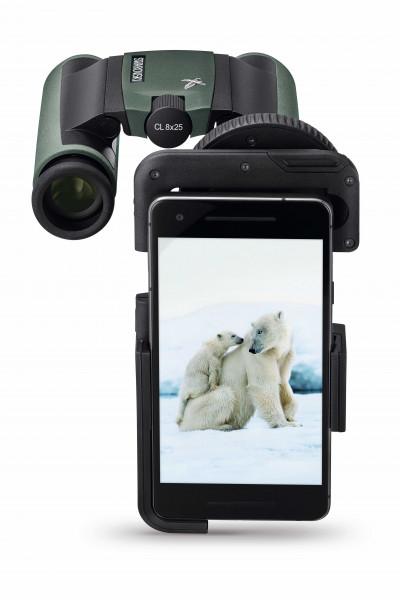 AR-Bs in Verbindung mit VPA-Adapter und Swarovski CL Pocket und Eisbär