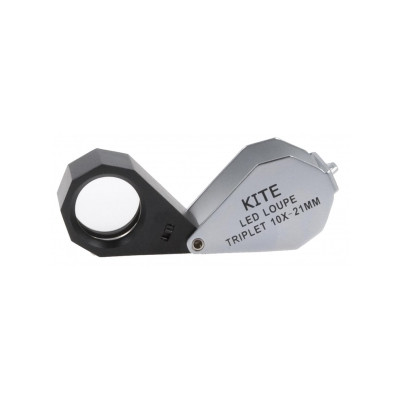 Lupe KITE Triplet 20x LED