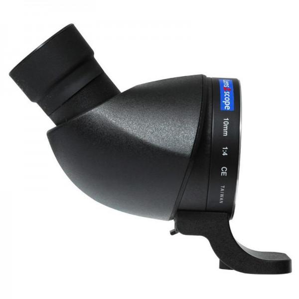 LENS2SCOPE 10mm für PENTAX K schwarz, Winkeleinblick
