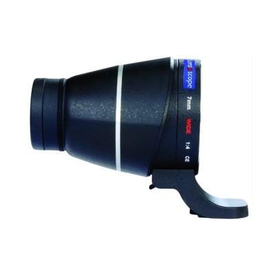 LENS2SCOPE 7mm wide für CANON EOS schwarz, Geradeeinsicht